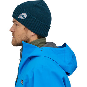 Patagonia Brodeo Couvre-chef, tube view/crater blue